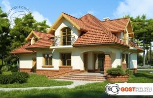 Проект дома м383