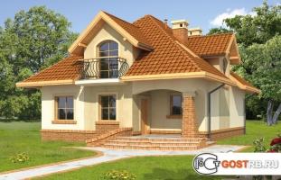 Проект дома м384