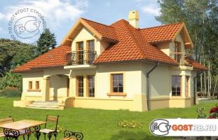 Проект дома м385