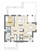 Проект дома м388
