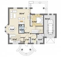Проект дома м389