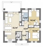 Проект дома м394