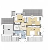 Проект дома м396