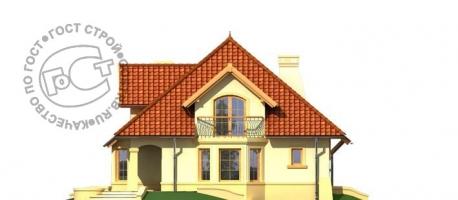 Проект дома м398