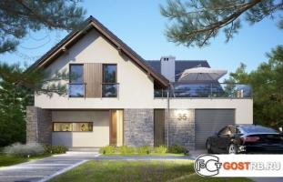 Проект дома м219