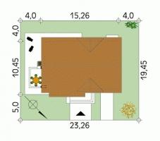 Проект дома м159