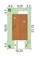 Проект дома м183