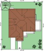 Проект дома м143