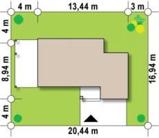 проект дома м464