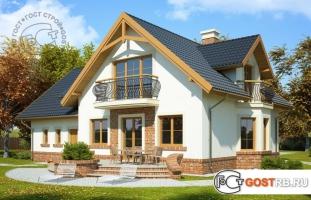 Проект дома м406