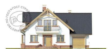 Проект дома м408