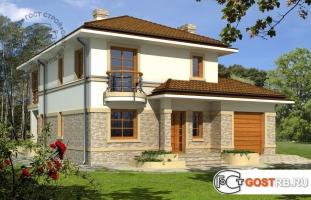 Проект дома д409