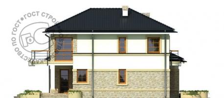 Проект дома д410