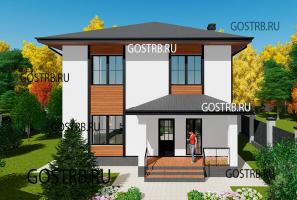 проект дома Д2821