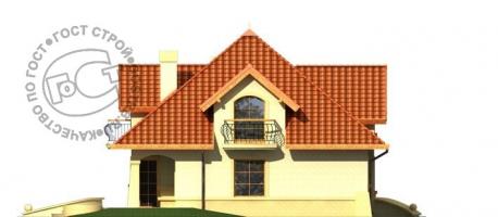 Проект дома м411