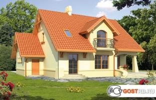 Проект дома м412
