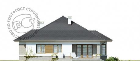 Проект дома м418