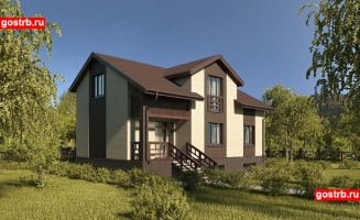 Проект дома м517