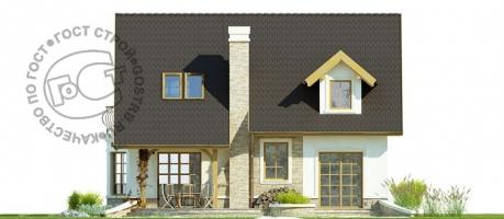 Проект дома м421