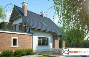 Проект дома м4322