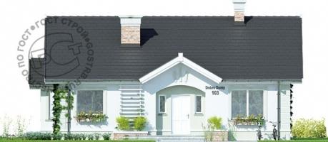 Проект дома м434