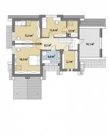 Проект дома м435