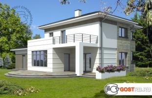 Проект дома д444