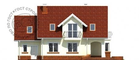 Проект дома м448