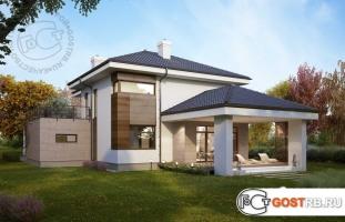 Проект дома м224
