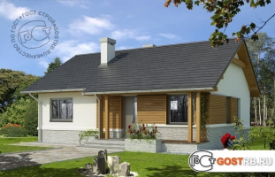 Проект дома м451