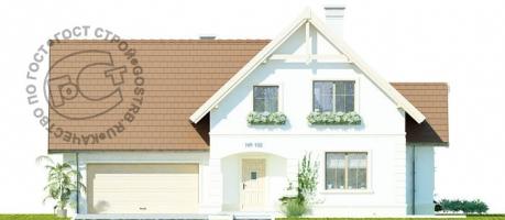 Проект дома м452