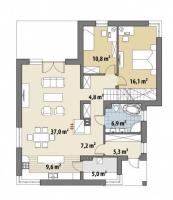 Проект дома д454