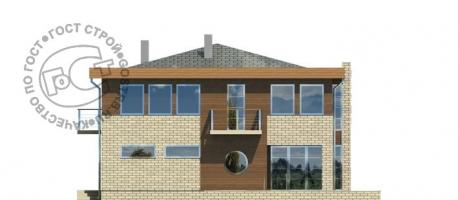 Проект дома д456