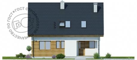 Проект дома м458