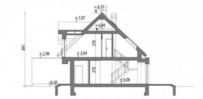 Проект дома м228