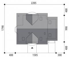 Проект дома м231