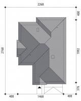 Проект дома м232