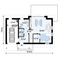 проект дома м478