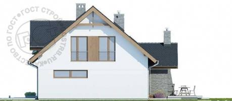 Проект дома м234
