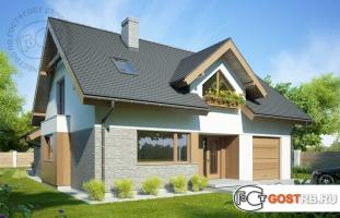 Проект дома м235