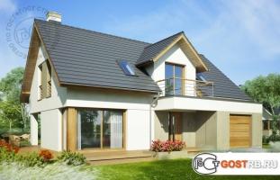 Проект дома м238