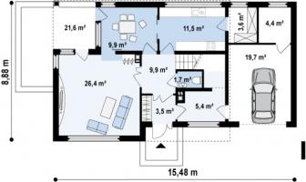 проект дома м470