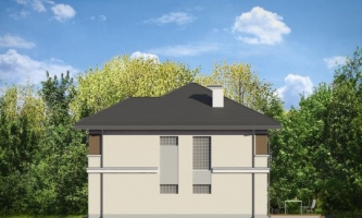проект дома д885