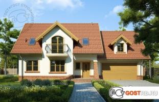 Проект дома м254