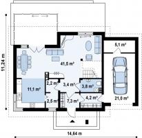проект дома м477