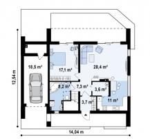 проект дома д475