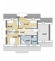 Проект дома м255