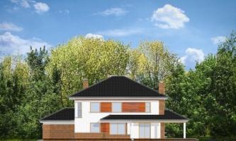 проект дома Д884
