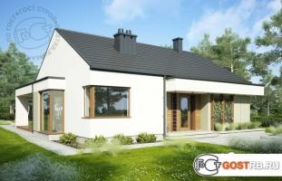 Проект дома м256