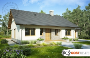 Проект дома м262